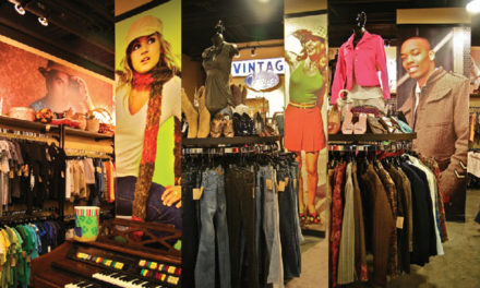 Vintage + Vogue + Goodwill=A New Kind of Boutique