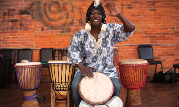 Dr. Djo Bi: African Drummer Now Calls Bloomington Home (Photo Gallery)