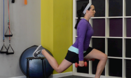 Weekly Exercise: a Balance Squat with Front Shoulder Raise