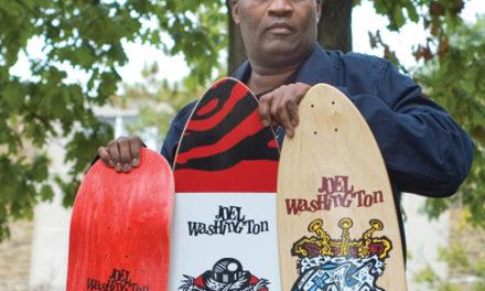 Artist Joel Washington Takes His Art to the Streets