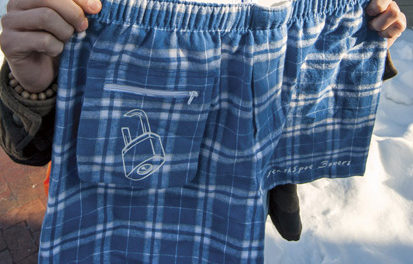 North Student 'Invents' Boxer Shorts with Pocket