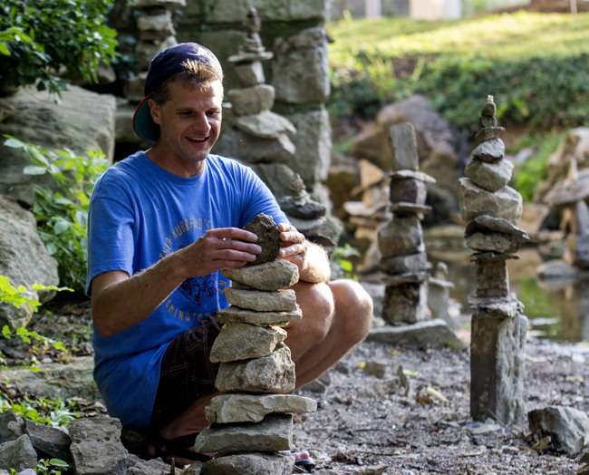 Rock Sculptures in Jordan River (Video and Photo Gallery)