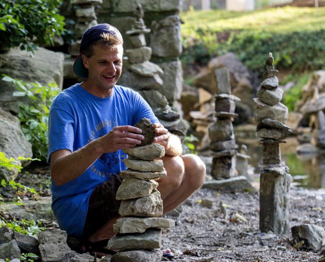 Rock Sculptures in Jordan River (Video and Photo Gallery)