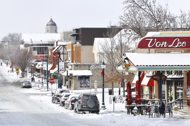 B-town in Winter