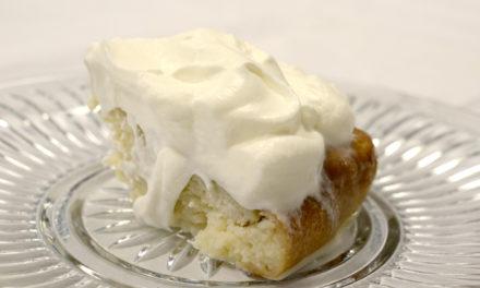 Recipe of the Week: Three Milk Cake