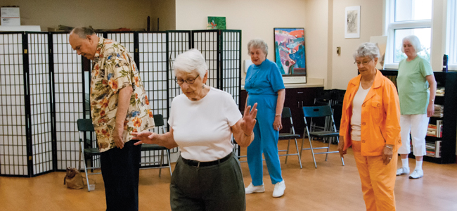 Presenting Shirley Blackledge, 90, and the Meadowood Line Dancers (Photo Gallery and Video)