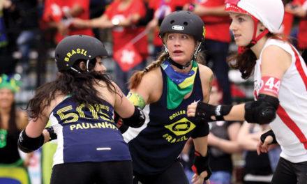 Scarlette Amira Dutra E Mello: Roller Girl