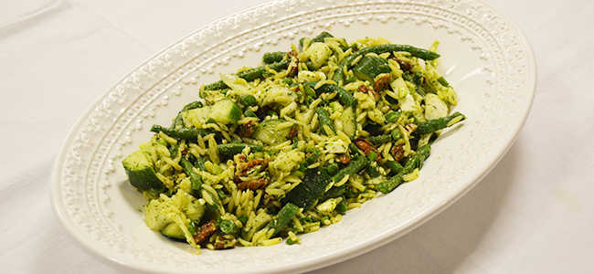 Recipe of the Month: Green Bean and Friends Salad