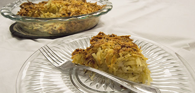 Recipe of the Month: Potato Kugel
