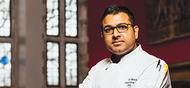 Meet Gaurav Navin, IMU'S New Head Chef