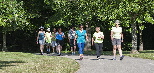 Bloomington Walking Club: For People Who Like Support and Company