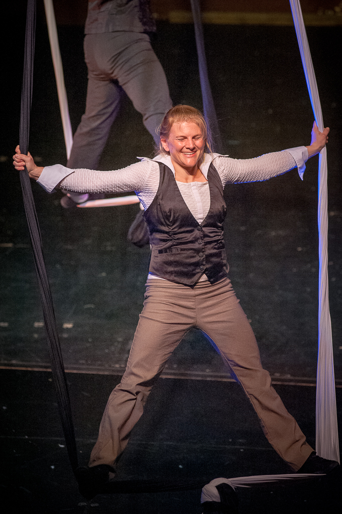 Stage Flight Circus Arts Spring 2017 Show at the Buskirk-Chumley Theater. Photo by Rodney Margison