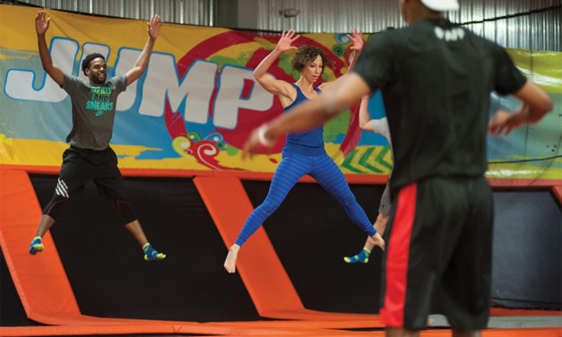 Urban Air Trampoline Park Now Offering Adult Fitness Classes