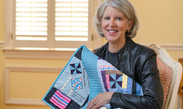 Barbara Richards' Quilt Honors Memory Of Friend & Music Prof. Steve Zegree
