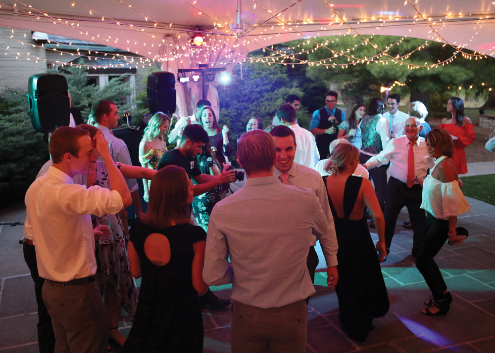 Guests enjoyed dancing through the night. Photo by Christina & Jodi Wedding Photography