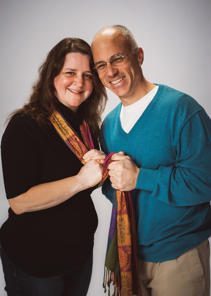 Kathy and Luis Fuentes-Rohwer. Photo by Jeff Richardson