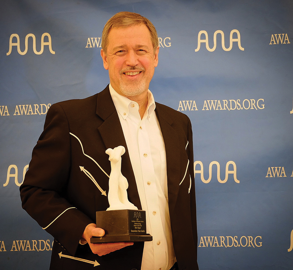 Bret Raper at the AWA Awards. Courtesy photo