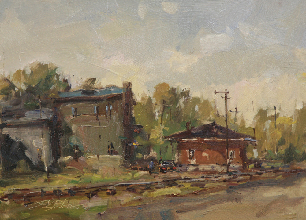 """Rail Town"" by Jerry Smith"