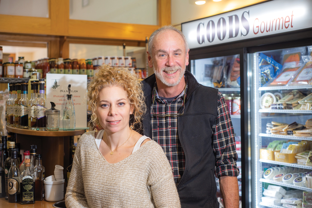 Goods for Cooks owners Samantha Eibling and George Huntington. Photos by Rodney Margison