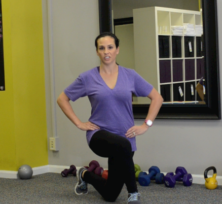Weekly Exercise: Across-the-Body Lunge