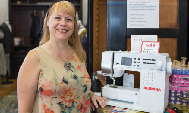 New Location and New Swiss-Made Sewing Machines at The Tailored Fit
