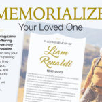 Memorialize Your Loved One in Bloom Magazine